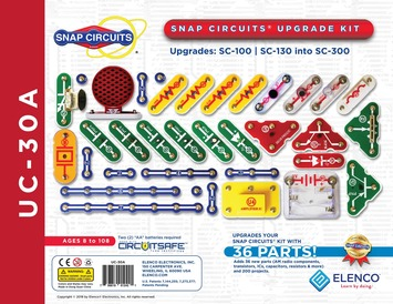 Snap Circuits Upgrade Kit SC100/SC130 into SC300 picture