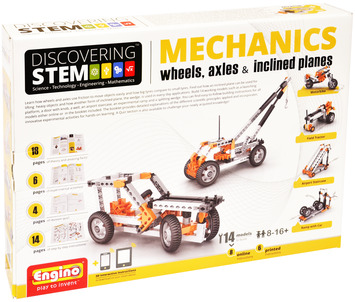 Engino ® - STEM MECHANICS Wheels, Axles & inclined planes picture