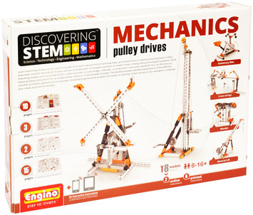 Engino ® - STEM MECHANICS Pulley Drives picture
