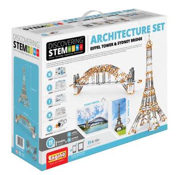 Engino® - STEM Architecture Set (Eiffel Tower & Sydney Bridge) picture