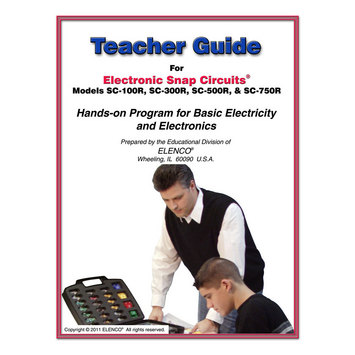 Snap Circuits Teachers Guide 100/300/500 picture