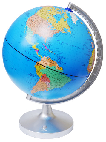 "11"" Dual Cartograph Illuminated Globe picture"