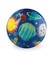 "4"" Solar System Playball"