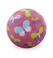 "7"" Pink Butterflies Playball"
