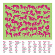 Horses Thirty-Six Animals Puzzle additional picture 3