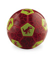 Size 2 Dinosaur Soccer Ball