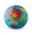"""4"""" Mermaid Playball"""
