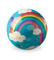 "4"" Playball/Rainbow Dreams"