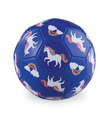 Size 3 Unicorn Soccer Ball