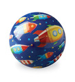 "4"" Playball/Space Race"
