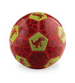 Size 3 Soccer Ball/Dinosaur