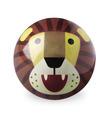 "4"" Lion Playball"