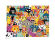 72-pc Puzzle/Lots of Animals additional picture 1
