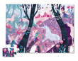 Unicorn Forest Shaped Puzzle additional picture 1