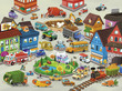 Busy City Canister Floor Puzzle additional picture 1