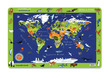 2-Sided Placemat/World Animals additional picture 1