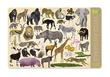 Wild Animals Two-Sided Placemat additional picture 1