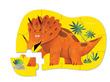 12-pc Mini Puzzle/Dino Dance additional picture 1