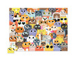 72-pc Puzzle/Lots of Cats additional picture 1