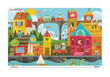 Shape Town Two-Sided Placemat additional picture 1