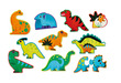 Let's Begin 2-pc Puzzles/Dinosaurs additional picture 1