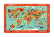 2-Sided Placemat/Dinosaur World additional picture 1