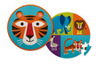 Tiger Friends Two-Sided Puzzle additional picture 1