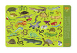 Reptiles & Amphibians Two-Sided Placemat additional picture 1
