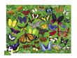 Butterflies Thirty-Six Animals Puzzle additional picture 1