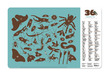Insects Two-Sided Placemat additional picture 2