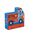 Fire Engine Two-Sided Puzzle