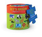 Let's Begin 2-pc Puzzles/Jungle -