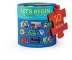 Let's Begin 2-pc Puzzles/Vehicles -