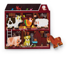 Let's Play/6 pc. Wood Puzzle - On the Farm