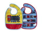 Riding the Rails Bib / Set of 2 / Travel Pouch