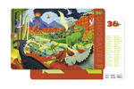 Dinosaurs Two-Sided Placemat