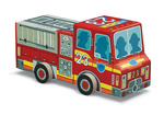 Fire Truck Vehicle Puzzle