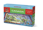 Discover Canada Learn + Play Puzzle 100pc