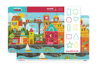 Shape Town Two-Sided Placemat