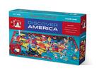 100-pc Discover Puzzle/America