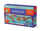 100-pc Discover Puzzle/Dinosaurs