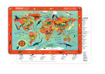 Dinosaur World Two-Sided Placemat
