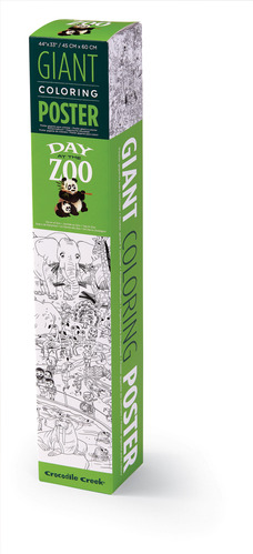Giant Coloring Poster/Zoo picture