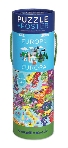 Europe Poster Puzzle picture