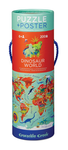 Dinosaur World Poster Puzzle picture