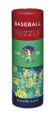 Baseball Sports America 100pc Puzzle picture