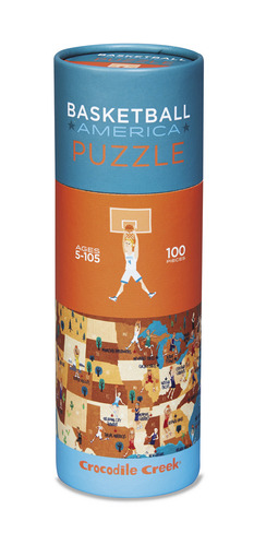 Basketball Sports America 100pc Puzzle picture