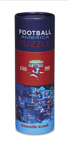 Football Sports America 100pc Puzzle picture