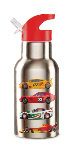 Stainless Bottle/Race Cars picture