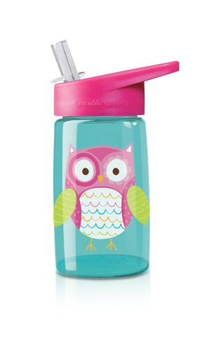 Owl Tritan Drinking Bottle picture